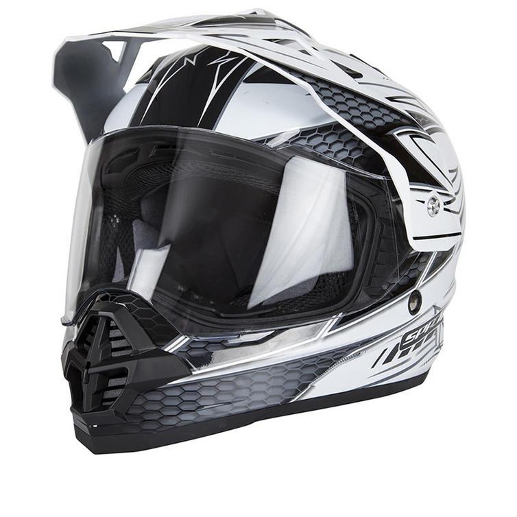 Spada Sting Maverick Dual Sport Motorcycle Helmet