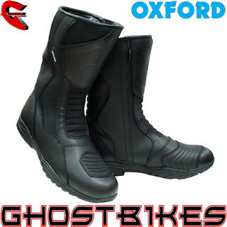 View Item Oxford Cherokee Waterproof Motorcycle Boots