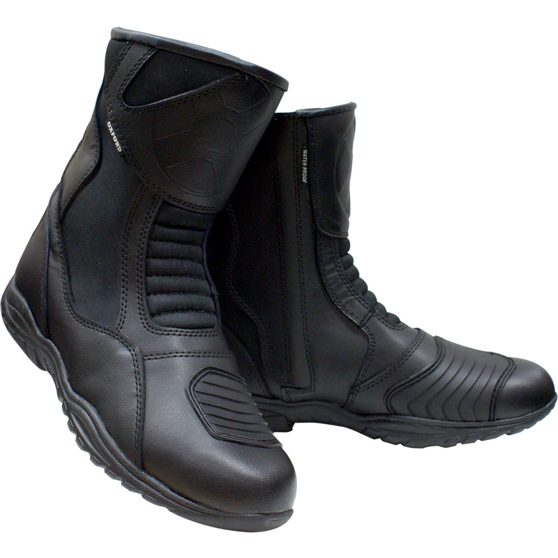 OXFORD CHEYENNE SHORT ANKLE WATERPROOF MOTORCYCLE BIKE TOURING LEATHER BOOTS
