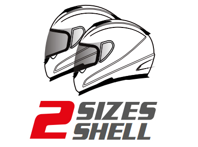 MT 2 Shell Sizes