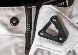 Rev It Cayenne Pro Motorcycle Trousers YKK Slide Lock Front Closure