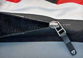 Rev It Vapor Jacket VCS Zippers
