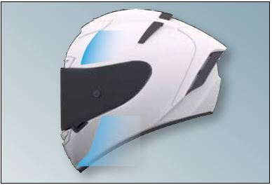 Shoei X-Spirit 3 Helmet Aerodynamics