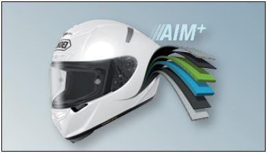 Shoei X-Spirit Helmet AIM+ Shell