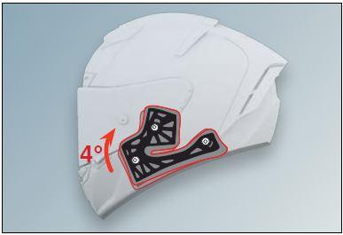 Shoei X-Spirit 3 Helmet Adjustable Cheek Pads