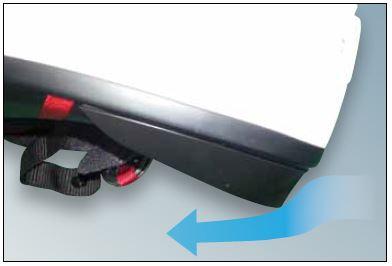 Shoei X-Spirit 3 Helmet Removable Spoiler