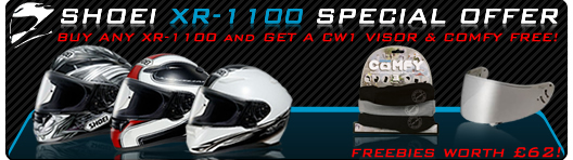 Click here for Shoei XR-1100 Helmets Special Offer
