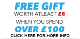 Free Gift on Orders Over £100