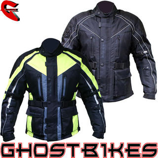 View Item Black Hazard Motorcycle Jacket