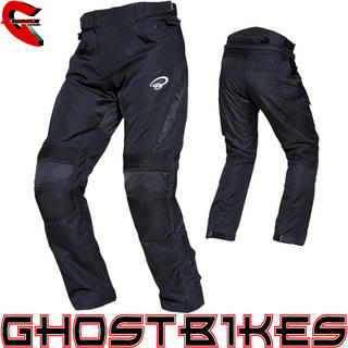 View Item Black Atom Motorcycle Trousers