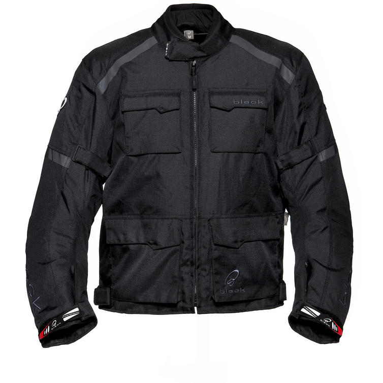 Black Venture Motorcycle Jacket
