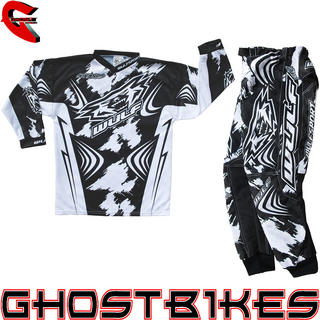 View Item Wulfsport 2013 Stratos Cub White Junior Motocross Kit