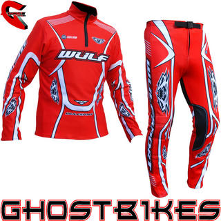 View Item Wulfsport 2013 Red Trials Kit