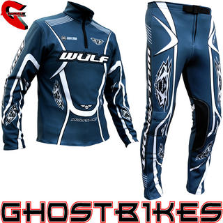 View Item Wulfsport 2013 Air Force Blue Trials Kit