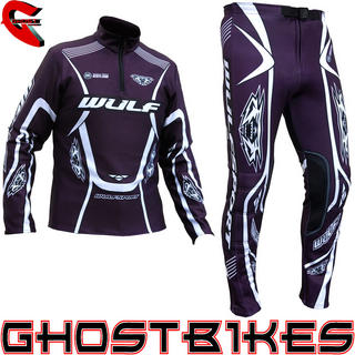 View Item Wulfsport 2013 Aubergine Trials Kit