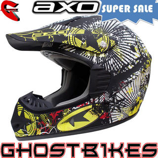 View Item Axo VR-X Crazy Motocross Helmet