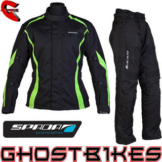 View Item Spada Planet Jacket and Fineliner Trousers Kit Black Fluo
