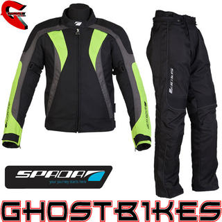 View Item Spada RPM Jacket and Fineliner Trouser Kit Black Hi-Vis