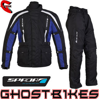 View Item Spada Core Jacket and Fineliner Trousers Kit Black Blue