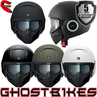 View Item Shark Raw Blank Motorcycle Helmet