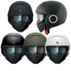 Shark Raw Blank Motorcycle Helmet Thumbnail 3