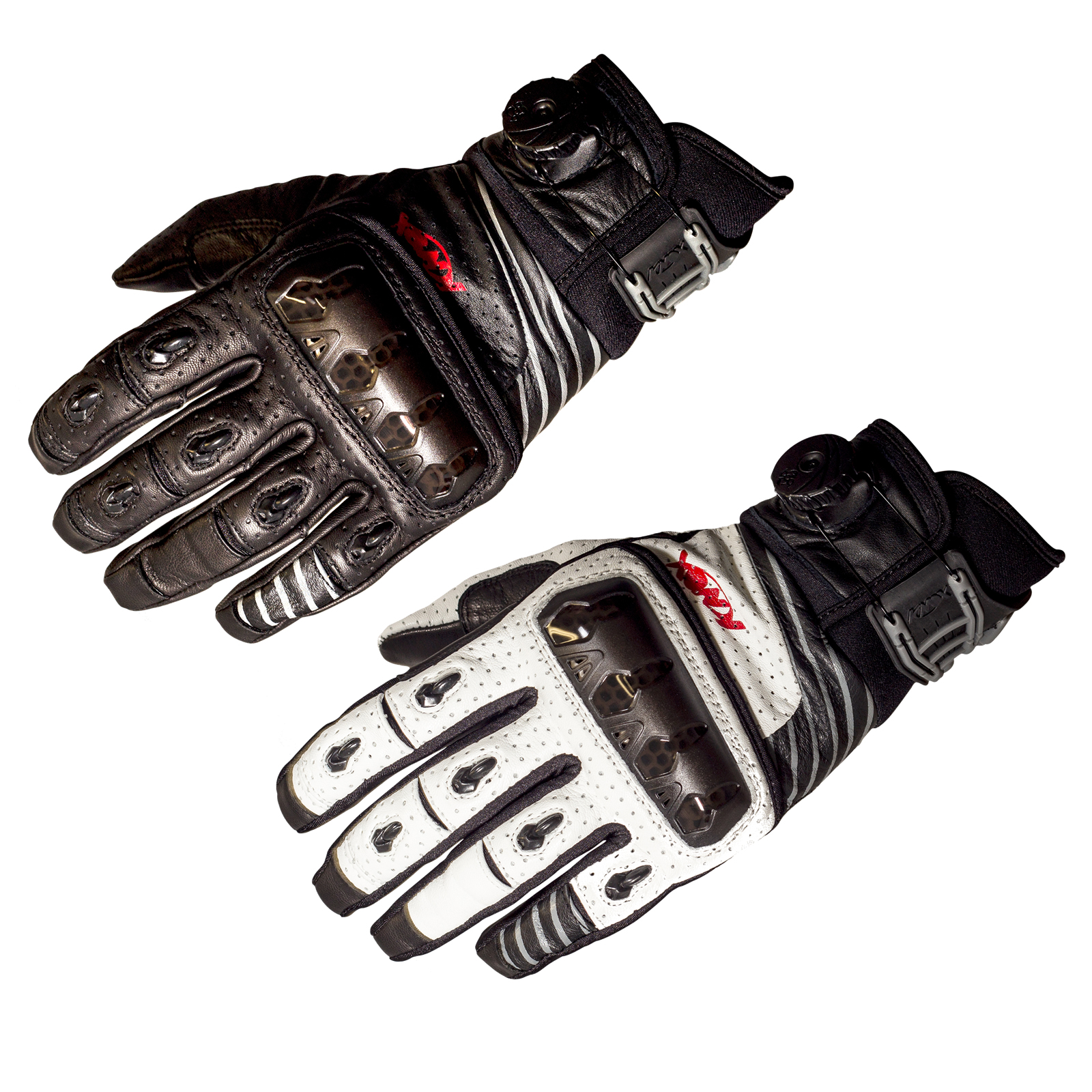 Motorcycle gloves for summer - Image Is Loading Knox Hand Armour Orsa Leather Off Road Summer