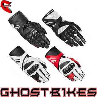 View Item Alpinestars SP-8 Leather Motorcycle Gloves
