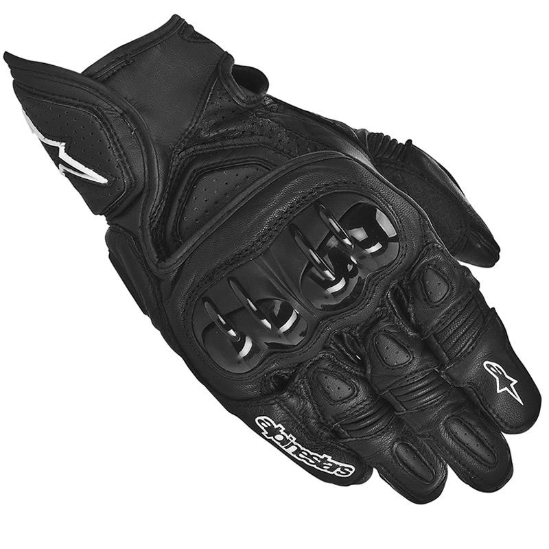 Sport Motorcycle Gloves: ALPINESTARS GPX SHORT SUMMER MOTORCYCLE LEATHER SPORTS