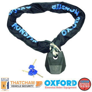 View Item Oxford Monster XL Chain & Lock 1.5m