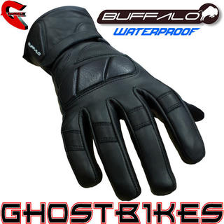 View Item Buffalo Rox Ladies Leather Motorcycle Gloves