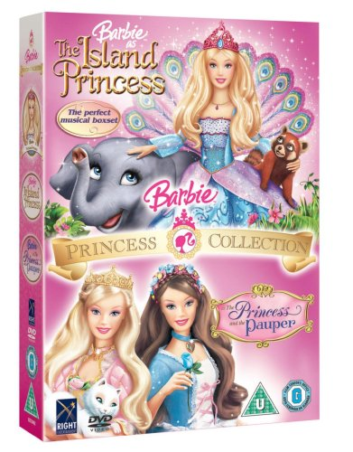 Details about Barbie Island Princess / The Princess And The Pauper DVD