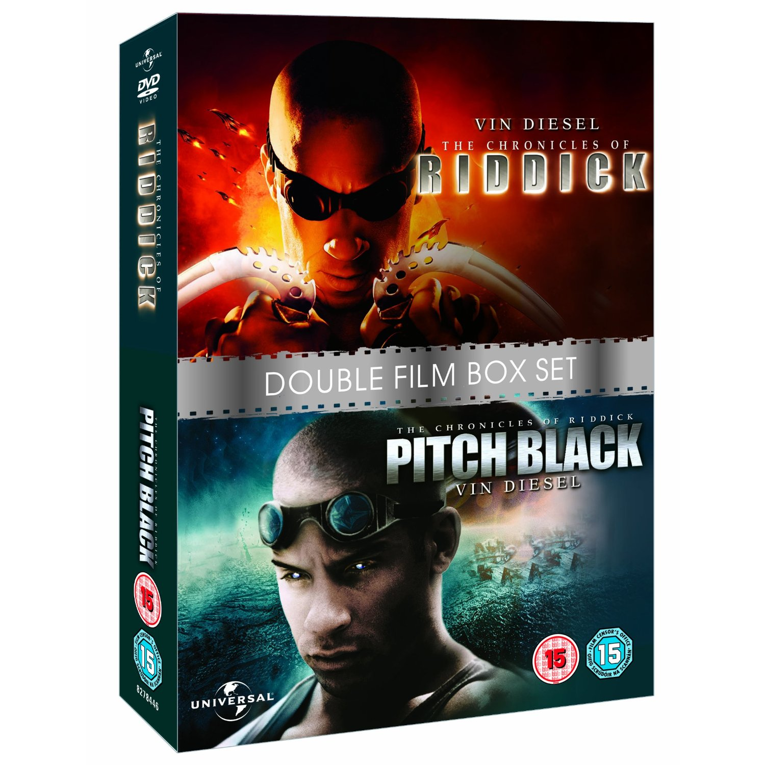 Vin Diesel Collection The Chronicles of Riddick / Pitch ...