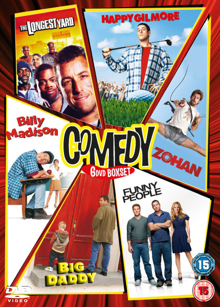 comedy boxed sets