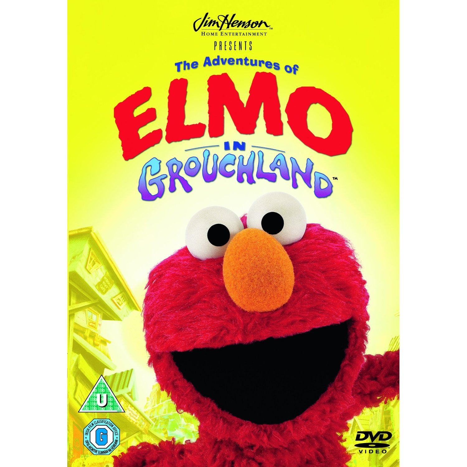 Adventures Of Elmo In Grouchland 2012 Repackage Dvd Family