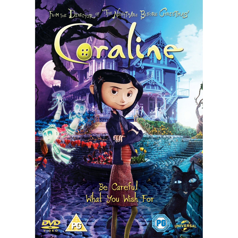 News: Coraline (UK - DVD R2 | BD) - DVDActive
