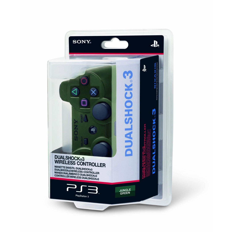 sony ps3 dualshock 3 wireless controller green new ebay. Black Bedroom Furniture Sets. Home Design Ideas