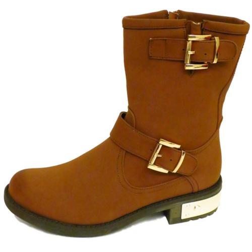 Gold Boots Womens Womens-brown-gold-dolcis-flat