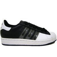 View Item ADIDAS SUPERSTAR II 2 BLACK ADICOLOR TRAINERS