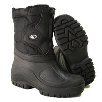 View Item BLACK WINTER WATERPROOF WARM RAIN SNOW BOOTS SIZE 4-8