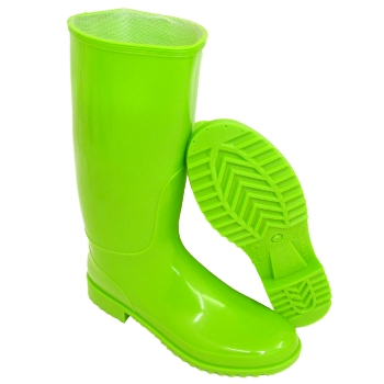 LADIES LIME GREEN WELLIES WELLINGTON RAIN BOOT SIZE 4-8 Buy Online
