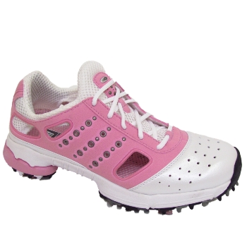 adidas oasis lite white pink womens golf shoes