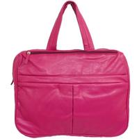 "View Item PINK 16"" LAPTOP NOTEBOOK BAG WORK SCHOOL CARRY CASE"
