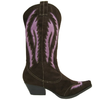 new brown pink cowboy western boots buy