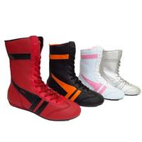 View Item WOMENS LACE-UP HI-TOP FLAT BOXER TRAINER ZIP-UP ANKLE BOOTS PUMPS SIZES 3-8