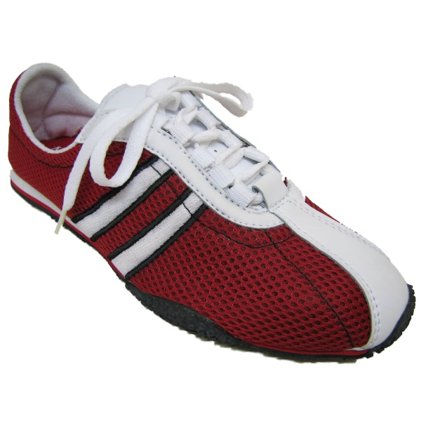 NEW RED WHITE FITNESS GYM LIGHT SPORT TRAINERS  Preview