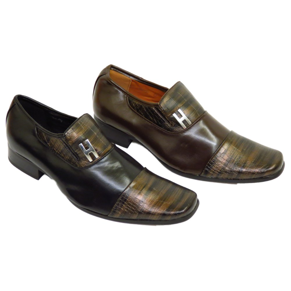 MENS BLACK BROWN BOYS WEDDING FORMAL WORK CASUAL DRESS PARTY SHOES SIZE 6-11 Buy Online