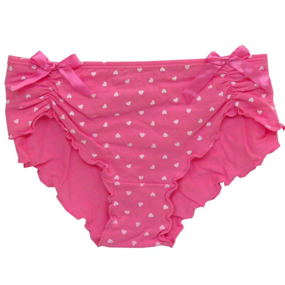 Pink Polka Dot Panties 8