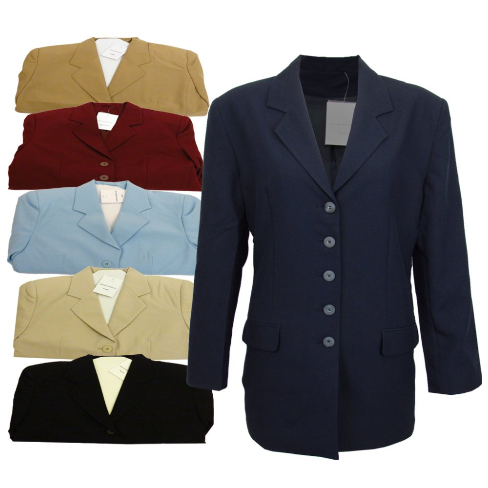 Long suit jackets for women