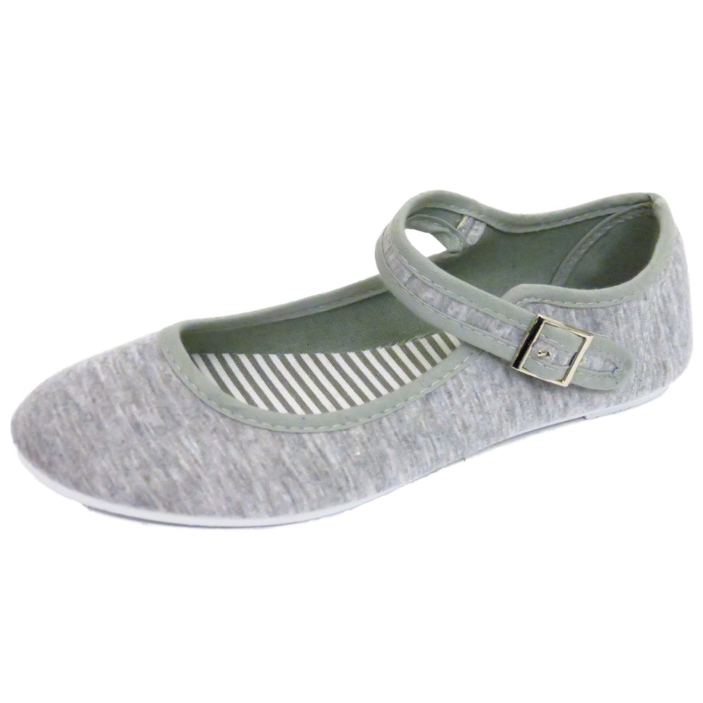 Toms Womens Leopard Flat Shoes Grey