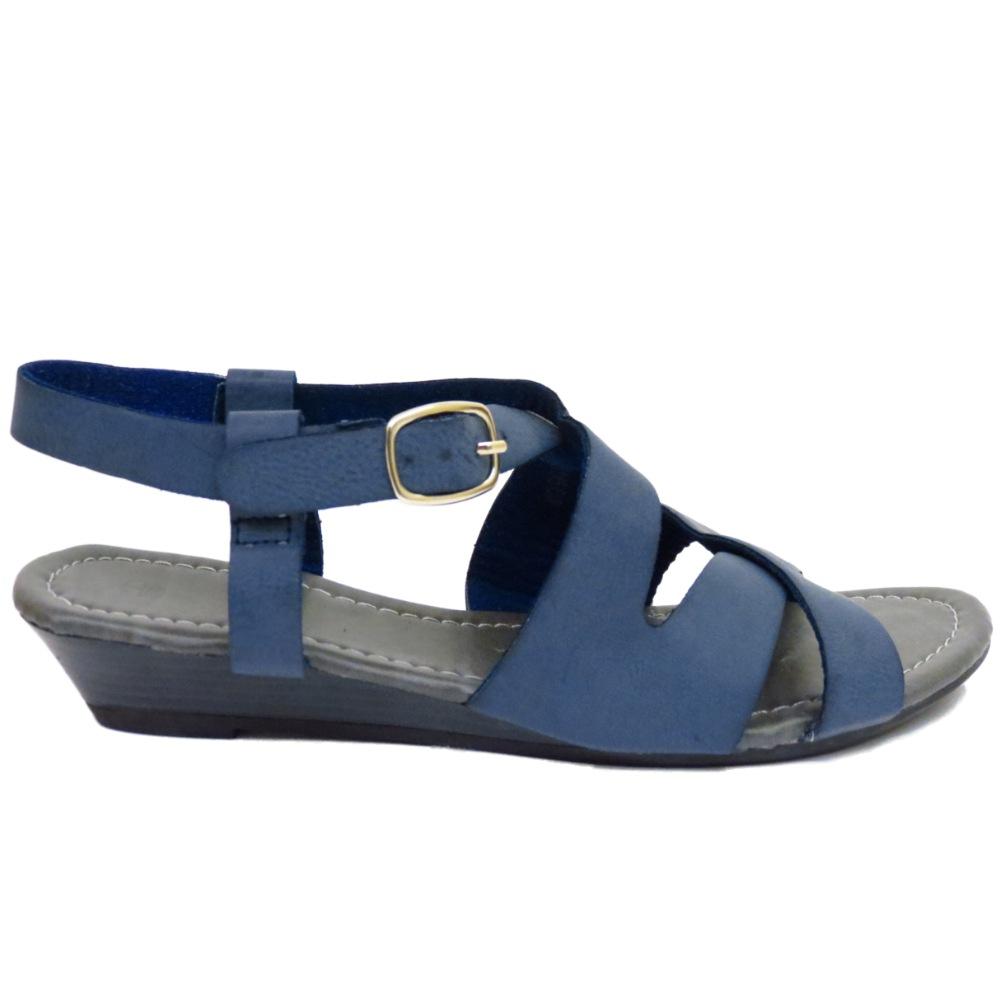 navy comfy walking gladiator sandals low wedge